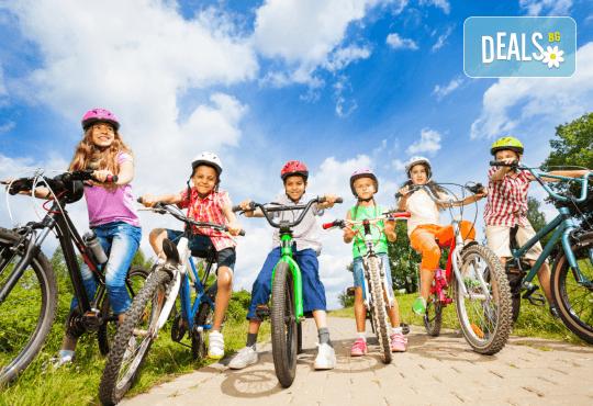 Вело природен круиз за деца на възраст от 7 до 17г. от Scoot