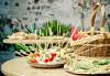 110 коктейлни хапки със средиземноморски бут, краставици и млечен мус, сиренца, прошуто и чоризо от My Style Event - thumb 2