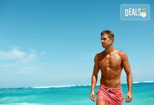 Лазерна епилация на гърди и корем за мъже, която може да се прави и през лятото! 1, 3 или 5 процедури, в салон за лазерна епилация MJ Aesthetic! - Снимка 2