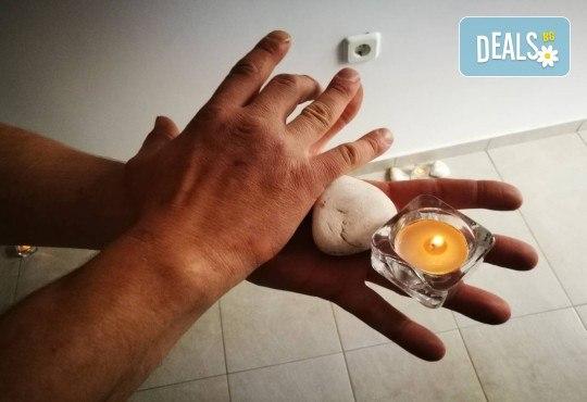 45-минутен спортен масаж на цяло тяло с билкови масла и сини водорасли в Масажно студио Адонай Елохай! - Снимка 6