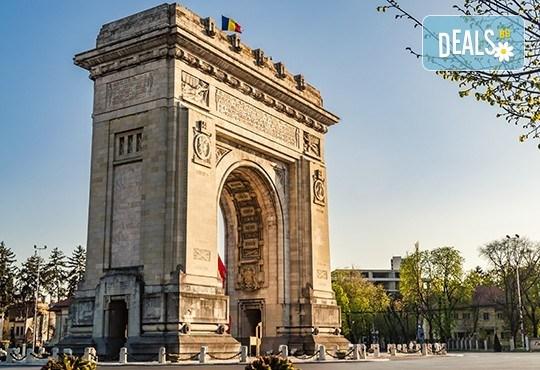 Еднодневна екскурзия до Букурещ с нощен преход през август! Транспорт, екскурзовод и панорамна автобусна обиколка - Снимка 1