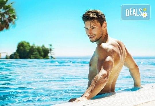 Лазерна епилация на гръб и рамене за мъже, която може да се прави и през лятото! 1, 3 или 5 процедури, в салон за лазерна епилация MJ Aesthetic! - Снимка 2