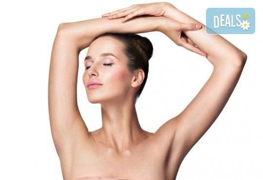 Лазерна епилация на цели ръце за жени, която може да се прави и през лятото! 1, 3 или 5 процедури, в салон за лазерна епилация MJ Aesth - Снимка 1