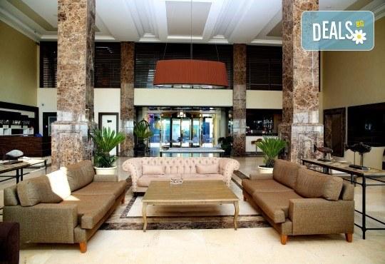 Почивка през септември в хотел Delta Beach Resort 5*, Бодрум! 7 нощувки All Inclusive Plus, транспорт с автобус от София, Пловдив, Варна, Бургас - Снимка 9