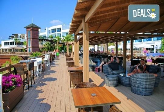 Почивка през септември в хотел Delta Beach Resort 5*, Бодрум! 7 нощувки All Inclusive Plus, транспорт с автобус от София, Пловдив, Варна, Бургас - Снимка 14