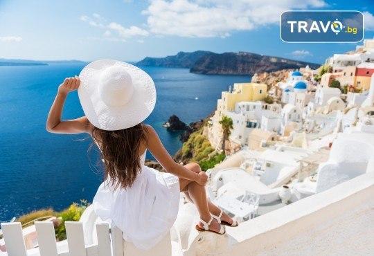 Екскурзия през септември или октомври до остров Санторини! 4 нощувки със закуски, транспорт, фериботни и пътни такси и представител на Далла Турс! - Снимка 2
