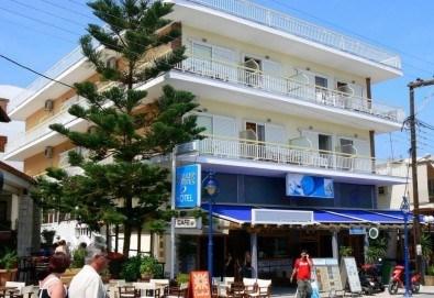 На море през август и септември в Гърция, Халкидики, с ТА Солвекс! 7 нощувки със закуски в Simotel Ermis 3*, Ханиоти, Касандра, транспорт и водач! - Снимка
