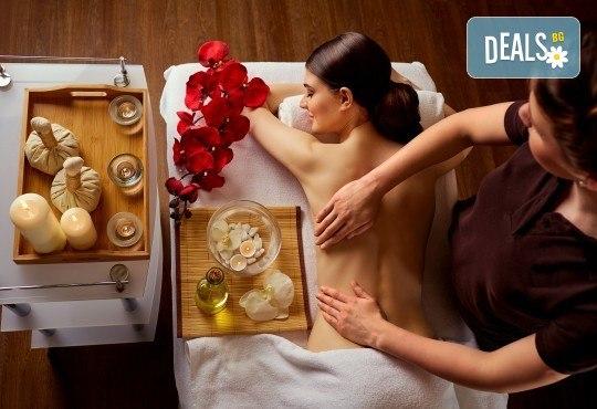 Древноазиатски лечебен масаж на гръб и рефлексотерапия на ходила, длани и скалп от Студио Модерно е да си здрав в Центъра! - Снимка 1