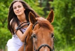 Бъдете сред природата! 45 минути разходка с кон от конна база София – Юг, Драгалевци! - Снимка