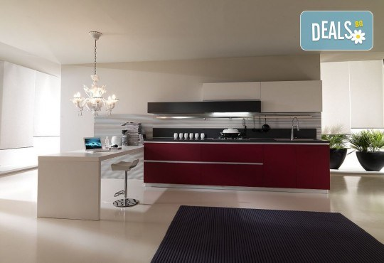 Специализиран 3D проект за дизайн на мебели + бонус: 15% отстъпка за изработка на мебелите от производител, от магазин за бутикови мебели Christo Design LTD - Снимка 3