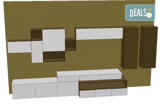 Специализиран 3D проект за дизайн на мебели + бонус: 15% отстъпка за изработка на мебелите от производител, от магазин за бутикови мебели Christo Design LTD - Снимка 9