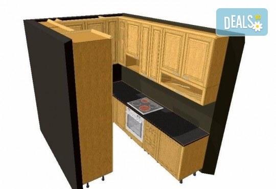 Специализиран 3D проект за дизайн на мебели + бонус: 15% отстъпка за изработка на мебелите от производител, от магазин за бутикови мебели Christo Design LTD - Снимка 16