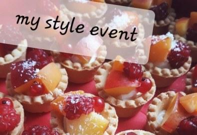 Изкусително предложение за Вашия повод! 36 тарталети с вкус по избор от My Style Event! - Снимка