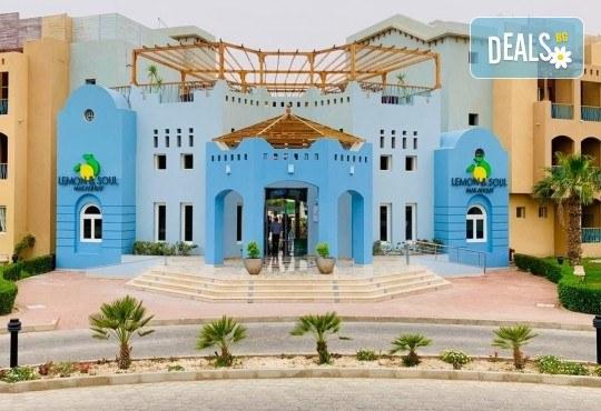 Почивка в Египет през есента с Караджъ Турс! 7 нощувки на база All inclusive в Lemon & Soul Garden Makadi 4*, Хургада, самолетен билет за директен чартърен полет и трансфери - Снимка 1