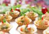 Апетитно и свежо! 3 плата с общо 80 зеленчукови шишчета, мини еклери и тарталети, аранжирани и декорирани за директно сервиране, от кулинарна работилница Деличи! - thumb 4