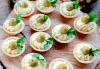 Апетитно и свежо! 3 плата с общо 80 зеленчукови шишчета, мини еклери и тарталети, аранжирани и декорирани за директно сервиране, от кулинарна работилница Деличи! - thumb 2