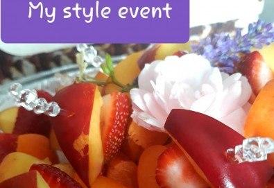 Свежо лятно предложение! 30 броя плодови шишчета в кутия от My Style Event! - Снимка