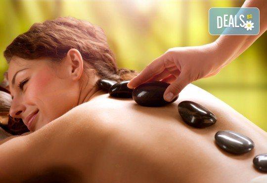 100% релакс! Пакет 3 масажа със злато и Hot stone, шоколад и зонотерапия, арома масаж с етерични масла в луксозния SPA център Senses Massage & Recreation! - Снимка 2