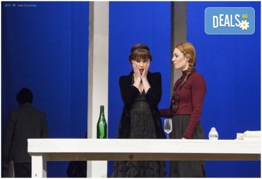 Гледайте любими актьори в постановката на Нина Рейн - Съгласие, на 24.09. от 19 ч., билет за един - Снимка 3
