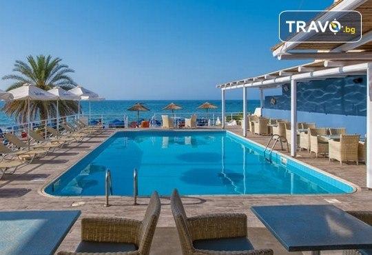 На супер цена! Почивка на о. Крит с чартърна програма от ТА Солвекс! 7 нощувки със закуски и вечери в Stalis Hotel 3*, самолетен билет с включени летищни такси, багаж и трансфер! - Снимка 1
