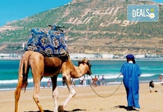 Самолетна екскурзия до Мароко през октомври с Караджъ Турс! Билет, летищни такси, трансфери, 7 нощувки със закуски и вечери в хотели 4*, водач и програма - Снимка 1