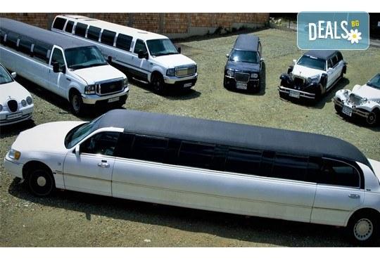 Моминско или ергенско парти на колела с луксозна лимузина от RINGSPOT и заснемане от професионален фотограф от New Line Production и подаръци! - Снимка 7