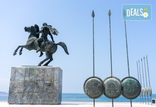 Шопинг и разходка за 1 ден в Солун: транспорт, водач и панорамна обиколка