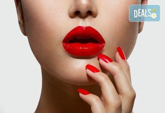 Изграждане на ноктопластика с удължители или гел и дълготраен маникюр с гел лак в NSB Beauty Center! - Снимка 2