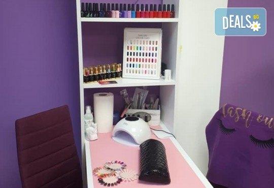 Изграждане на ноктопластика с удължители или гел и дълготраен маникюр с гел лак в NSB Beauty Center! - Снимка 10