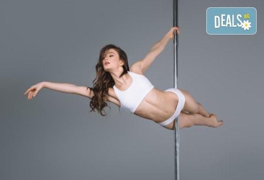 Забавлявайте се и бъдете във форма! 3 или 5 тренировки по Pole Dance в Pro Sport, Варна! - Снимка 1