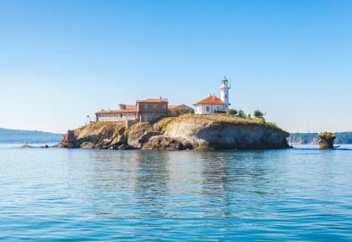 Почивка за 6 септември на Южното Черноморие! 2 нощувки със закуски и 1 вечеря в хотел Мистрал 2*, транспорт, вечеря в с. Бата и посещение на о. Св. Анастасия - Снимка