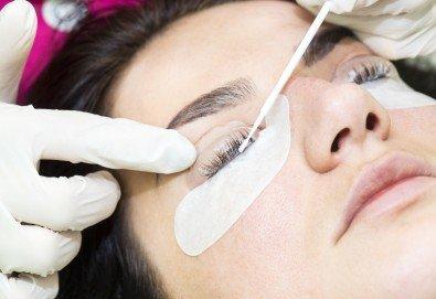 Приковаващ поглед! Ламиниране, ботокс и боядисване на мигли в NSB Beauty Center! - Снимка