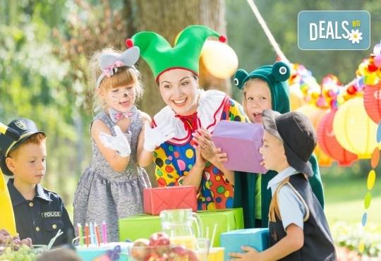 Аниматор за детско парти с включени весели игри, рисунки на лица, украса и още от Парти Арт 91! - Снимка 1