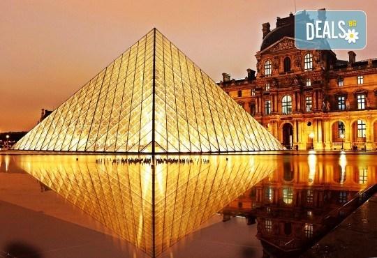Самолетна екскурзия до Париж, дата по избор: 3 нощувки със закуски, билет и трансфери