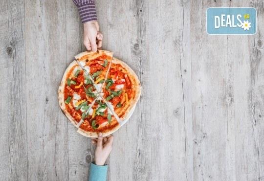 Вкусно и изгодно предложение! Вземете пица по Ваш избор oт Hubi-Brothers в Княжево! - Снимка 4