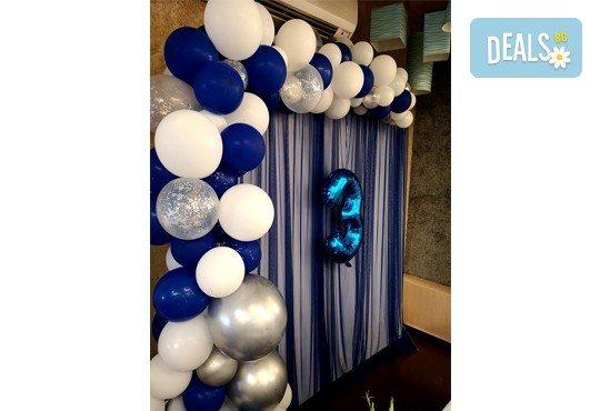 За Вашия специален повод! Елегантен водопад от балони + безплатна доставка и монтаж от Мечти от балони! - Снимка 6