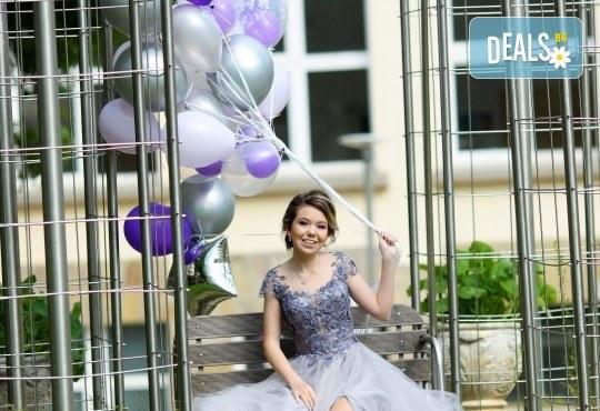 50 броя висококачествени латексови балони с хелий + безплатна доставка и аранжиране от Мечти от балони! - Снимка 5