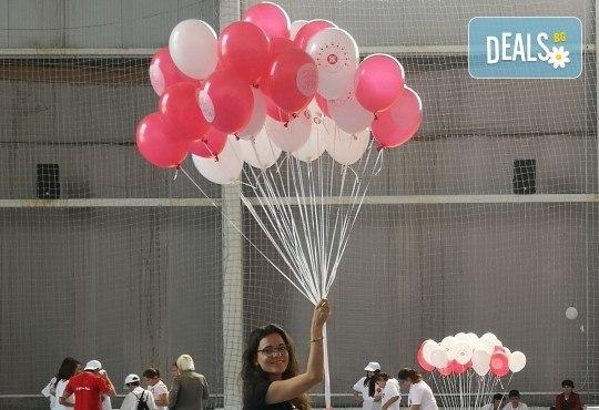 50 броя висококачествени латексови балони с хелий + безплатна доставка и аранжиране от Мечти от балони! - Снимка 6