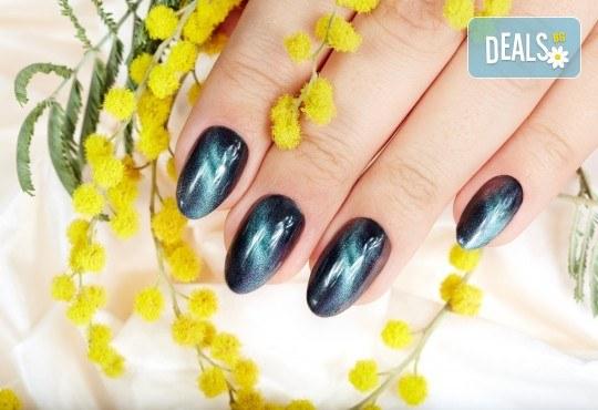 Класически или френски маникюр с гел лак Blue Sky или Rec, богат избор от ефекти, 2 перманентни декорации и хидратиращ масаж на ръце в Beauty center D&M! - Снимка 2