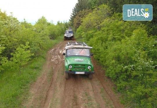 Офроуд разходка за до шест човека с джип в околностите на Велико Търново и село Арбанаси от HillView VT - Снимка 7