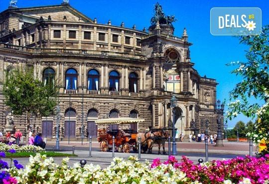 През септември до Будапеща, Прага и Дрезден: 3 нощувки, закуски, самолетен билет
