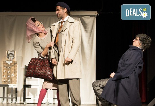 На 15-ти октомври (вторник) гледайте комедията на Теди Москов Аз обичам, ти обичаш, тя обича в Малък градски театър Зад канала! - Снимка 3