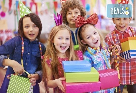 2 часа детски рожден ден за 10 деца и празнични менюта в Детски