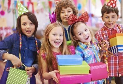 2 часа детски рожден ден за 10 деца + 10 детски празнични менюта и възможност за безплатно внасяне на торта в Детски център Пух и Прасчо в широкия център на София! - Снимка
