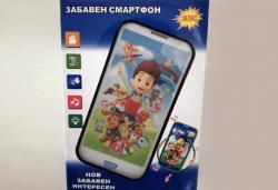 Детски смартфон Том или Калинката и черния котарак с български приказки и песни от Магнифико! - Снимка