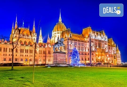 Коледна магия в Будапеща и Братислава с Дари Травел! 2 нощувки със закуски, транспорт, програма в Братислава и възможност за посещение на Виена - Снимка 1