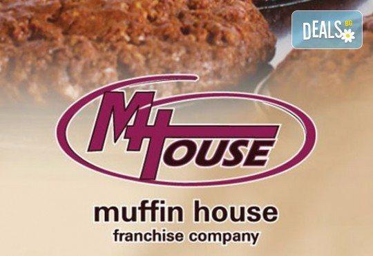 За фирми! Бисквити със снимка, лого или друг дизайн за корпоративни празници от Muffin House! - Снимка 4