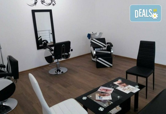 Подстригване, терапия за коса с кератин и шоколад, сешоар и стилизиране на прическа в салон Bibi Fashion! - Снимка 6