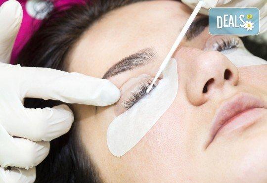 Приковаващи очи! Ламиниране на мигли с подхранваща терапия в салон Atelier Des Fleurs! - Снимка 4