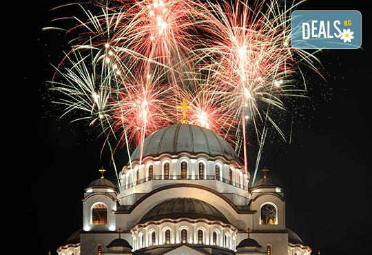 Посрещнете Нова година 2020 в Белград, със Запрянов Травел! 2 нощувки със закуски в СПА хотел Tulip Inn 3*, 1 стандартна и 1 гала вечеря с неограничени напитки - Снимка 1